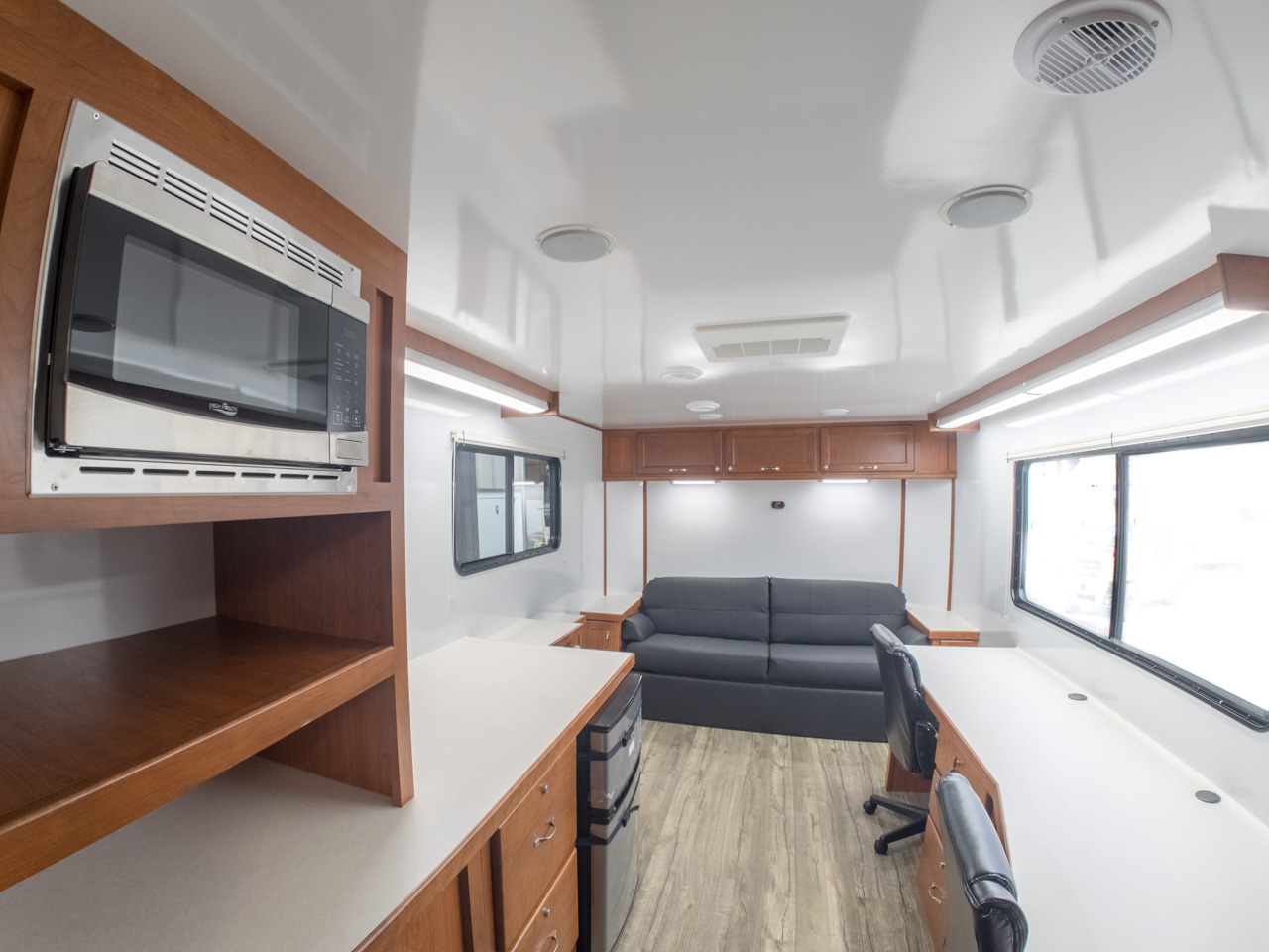 Interior view of Mobile Office Trailer 24 RE