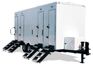 Custom Restroom Trailer Mobile Indiana
