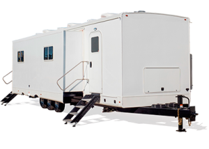 Hair and Makeup Salon Studio Trailers