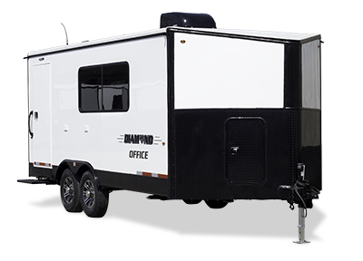 Custom Mobile Office Trailer Indiana