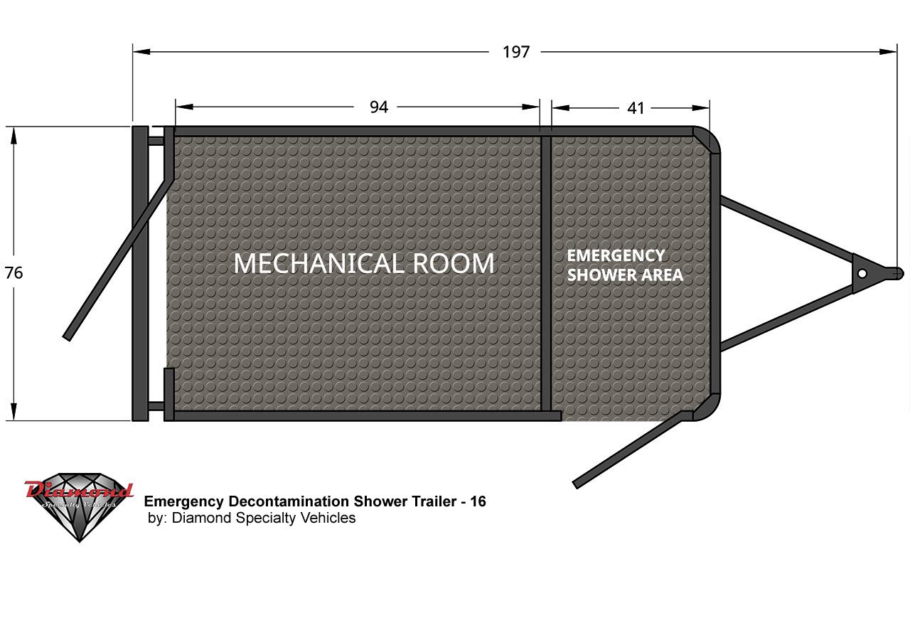 Emergency Decontamination Shower 16